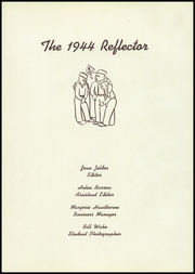 Galesburg High School - Reflector Yearbook (Galesburg, IL) online yearbook collection, 1944 Edition, Page 5 of 104
