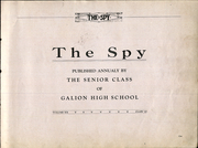 Galion High School - Spy Yearbook (Galion, OH) online yearbook collection, 1920 Edition, Page 5