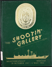 Gallery (FFG 26) - Naval Cruise Book online yearbook collection, 1984 Edition, Cover