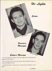 Page 7, 1955 Edition, Galt High School - Highlights Yearbook (Galt, CA) online yearbook collection