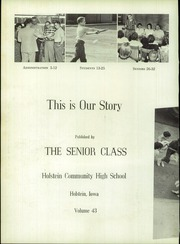 Page 6, 1960 Edition, Galva Holstein Community School - Moo Yearbook (Holstein, IA) online yearbook collection
