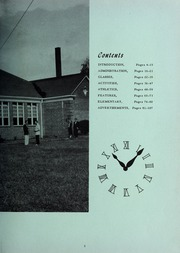 Page 7, 1957 Edition, Gamewell Collettsville High School - Devils Diary Yearbook (Lenoir, NC) online yearbook collection