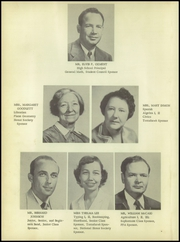 Page 10, 1955 Edition, Ganado High School - Chieftain Yearbook (Ganado, TX) online yearbook collection