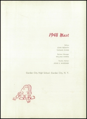 Page 7, 1948 Edition, Garden City High School - Mast Yearbook (Garden City, NY) online yearbook collection
