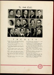 Gardner Webb University - Web / Anchor Yearbook (Boiling Springs, NC) online yearbook collection, 1940 Edition, Page 11