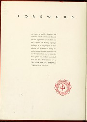 Gardner Webb University - Web / Anchor Yearbook (Boiling Springs, NC) online yearbook collection, 1940 Edition, Page 6
