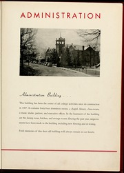 Gardner Webb University - Web / Anchor Yearbook (Boiling Springs, NC) online yearbook collection, 1940 Edition, Page 9