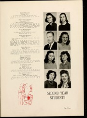 Page 15, 1945 Edition, Gardner Webb University - Web / Anchor Yearbook (Boiling Springs, NC) online yearbook collection