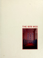 Gardner Webb University - Web / Anchor Yearbook (Boiling Springs, NC) online yearbook collection, 1978 Edition, Cover