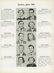 Page 13, 1954 Edition, Garfield Heights High School - Garfield Yearbook (Garfield Heights, OH) online yearbook collection