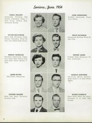 Page 16, 1954 Edition, Garfield Heights High School - Garfield Yearbook (Garfield Heights, OH) online yearbook collection