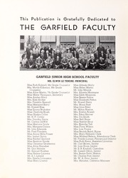 Garfield Junior High School - Gleaner Yearbook (Berkeley, CA) online yearbook collection, 1940 Edition, Page 4