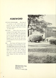 Garrett High School - Aeolian Yearbook (Garrett, IN) online yearbook collection, 1955 Edition, Page 6