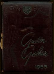 Gaston High School - Gusher Yearbook (Joinerville, TX) online yearbook collection, 1955 Edition, Cover
