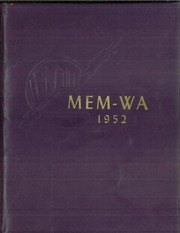 Gaylord High School - Mem Wa Yearbook (Gaylord, MN) online yearbook collection, 1952 Edition, Cover