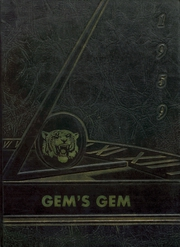 Gem Consolidated School - Gems Yearbook (Colby, KS) online yearbook collection, 1959 Edition, Cover