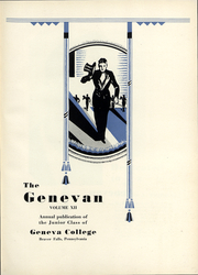 Page 6, 1931 Edition, Geneva College - Genevan Yearbook (Beaver Falls, PA) online yearbook collection