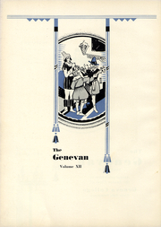 Page 7, 1931 Edition, Geneva College - Genevan Yearbook (Beaver Falls, PA) online yearbook collection