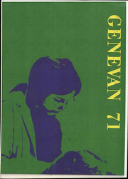 Geneva College - Genevan Yearbook (Beaver Falls, PA) online yearbook collection, 1971 Edition, Cover