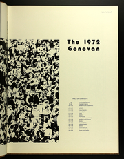 Page 7, 1972 Edition, Geneva College - Genevan Yearbook (Beaver Falls, PA) online yearbook collection