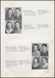 Page 17, 1942 Edition, Geneva High School - Legend Yearbook (Geneva, IN) online yearbook collection