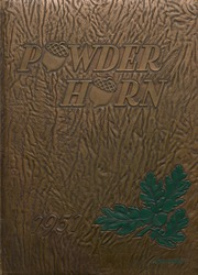 George Rogers Clark High School - Powder Horn Yearbook (Whiting, IN) online yearbook collection, 1951 Edition, Cover