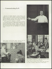 Page 11, 1958 Edition, George Rogers Clark High School - Powder Horn Yearbook (Whiting, IN) online yearbook collection