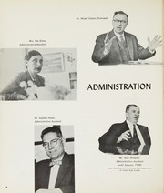 Page 8, 1958 Edition, George W Wingate High School - Mosaic Yearbook (Brooklyn, NY) online yearbook collection