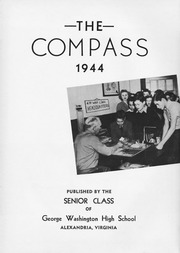 George Washington High School - Compass Yearbook (Alexandria, VA) online yearbook collection, 1944 Edition, Page 7 of 148