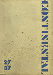George Washington High School - Continental Yearbook (Los Angeles, CA) online yearbook collection, 1937 Edition, Cover