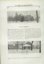 Page 14, 1930 Edition, George Washington High School - Monument Yearbook (Cedar Rapids, IA) online yearbook collection