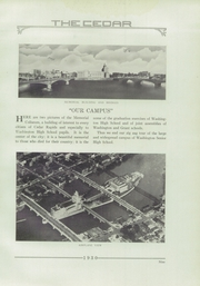 Page 17, 1930 Edition, George Washington High School - Monument Yearbook (Cedar Rapids, IA) online yearbook collection