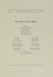 Page 17, 1911 Edition, George Washington University - Cherry Tree Yearbook (Washington, DC) online yearbook collection