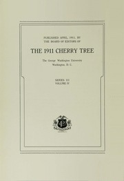 Page 8, 1911 Edition, George Washington University - Cherry Tree Yearbook (Washington, DC) online yearbook collection