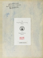 George Washington University - Cherry Tree Yearbook (Washington, DC) online yearbook collection, 1929 Edition, Page 2