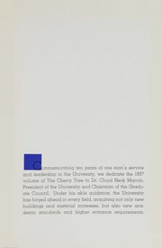 Page 11, 1937 Edition, George Washington University - Cherry Tree Yearbook (Washington, DC) online yearbook collection