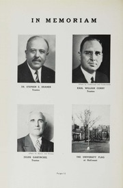 Page 14, 1937 Edition, George Washington University - Cherry Tree Yearbook (Washington, DC) online yearbook collection