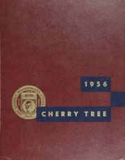 George Washington University - Cherry Tree Yearbook (Washington, DC) online yearbook collection, 1956 Edition, Cover