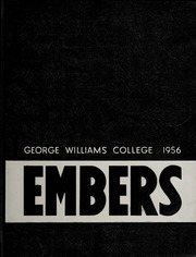 George Williams College - Embers Yearbook (Chicago, IL) online yearbook collection, 1956 Edition, Cover