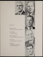 Page 11, 1956 Edition, George Williams College - Embers Yearbook (Chicago, IL) online yearbook collection