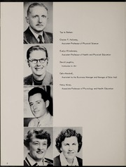 Page 12, 1956 Edition, George Williams College - Embers Yearbook (Chicago, IL) online yearbook collection
