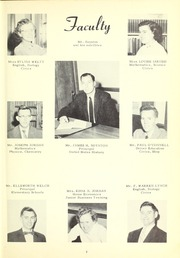 Page 9, 1957 Edition, Georgetown High School - Georgian Yearbook (Georgetown, MA) online yearbook collection