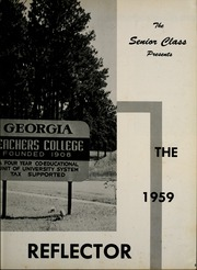 Georgia Southern University - Reflector Yearbook (Statesboro, GA) online yearbook collection, 1959 Edition, Page 9 of 216