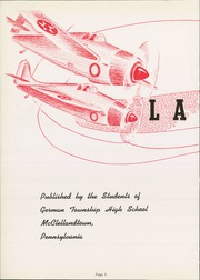 Page 6, 1943 Edition, German Township High School - Laureola Yearbook (McClellandtown, PA) online yearbook collection