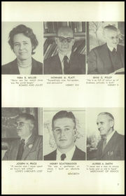 Page 11, 1950 Edition, Germantown Friends School - Blue and White Yearbook (Philadelphia, PA) online yearbook collection