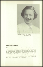 Page 17, 1950 Edition, Germantown Friends School - Blue and White Yearbook (Philadelphia, PA) online yearbook collection