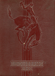 Gettysburg High School - Boomerang Yearbook (Gettysburg, SD) online yearbook collection, 1947 Edition, Cover