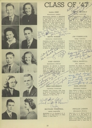 Page 14, 1947 Edition, Gettysburg High School - Boomerang Yearbook (Gettysburg, SD) online yearbook collection