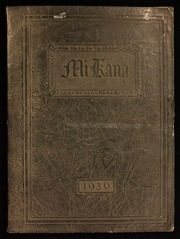 Gilbert High School - Mi Kana Yearbook (Gilbert, MN) online yearbook collection, 1930 Edition, Cover