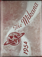 Gilbert High School - Mi Kana Yearbook (Gilbert, MN) online yearbook collection, 1954 Edition, Cover
